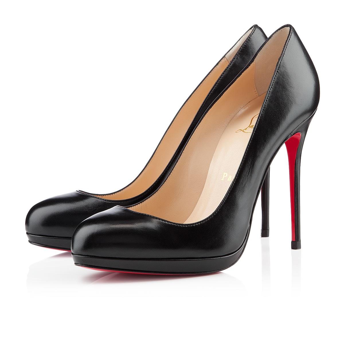 Black Business Heels - Is Heel